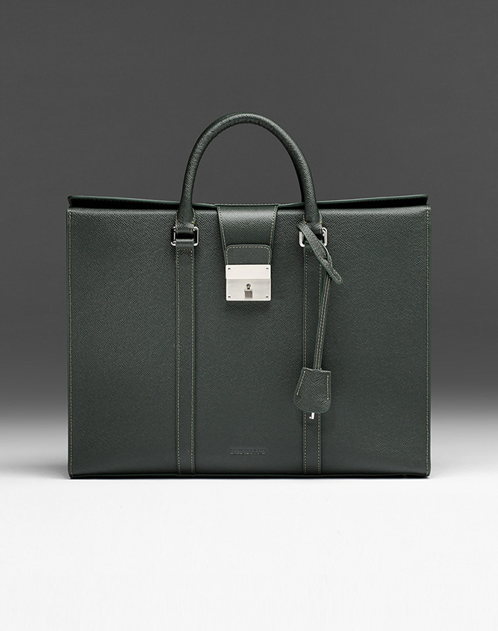 엠비지오네 CITY_R TOTE(GREEN)