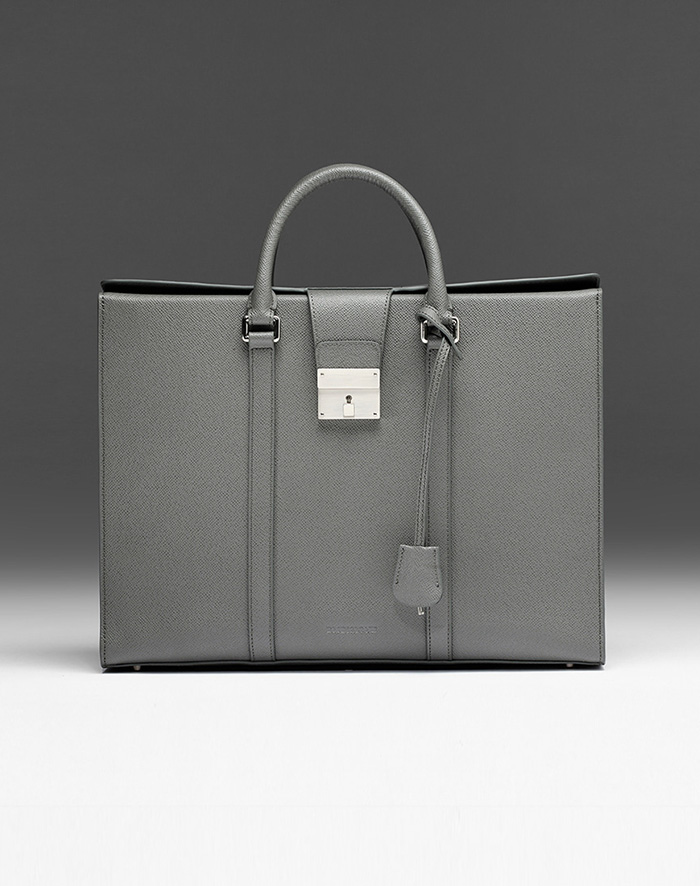엠비지오네 CITY_R TOTE(GREY)
